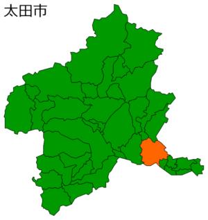 太田市地図