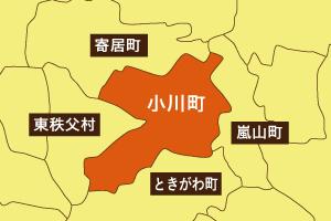 小川町地図