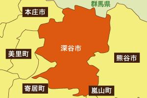 深谷市地図